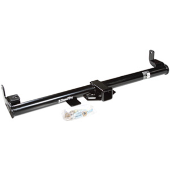 """Image of Draw-Tite Max-Frame Round Tube Class Iii Hitch Receiver With 2"""" Opening, Black"""