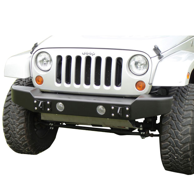 Image of Lod Armor Lite Midwidth Front Bumper - Textured Black