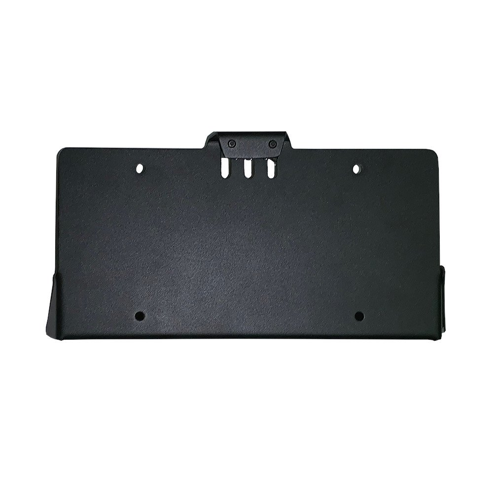 Warrior License Plate Mount, Jl/jlu, Exterior Car Parts | 2018-2019 Wrangler JL/JLU, WAR1555