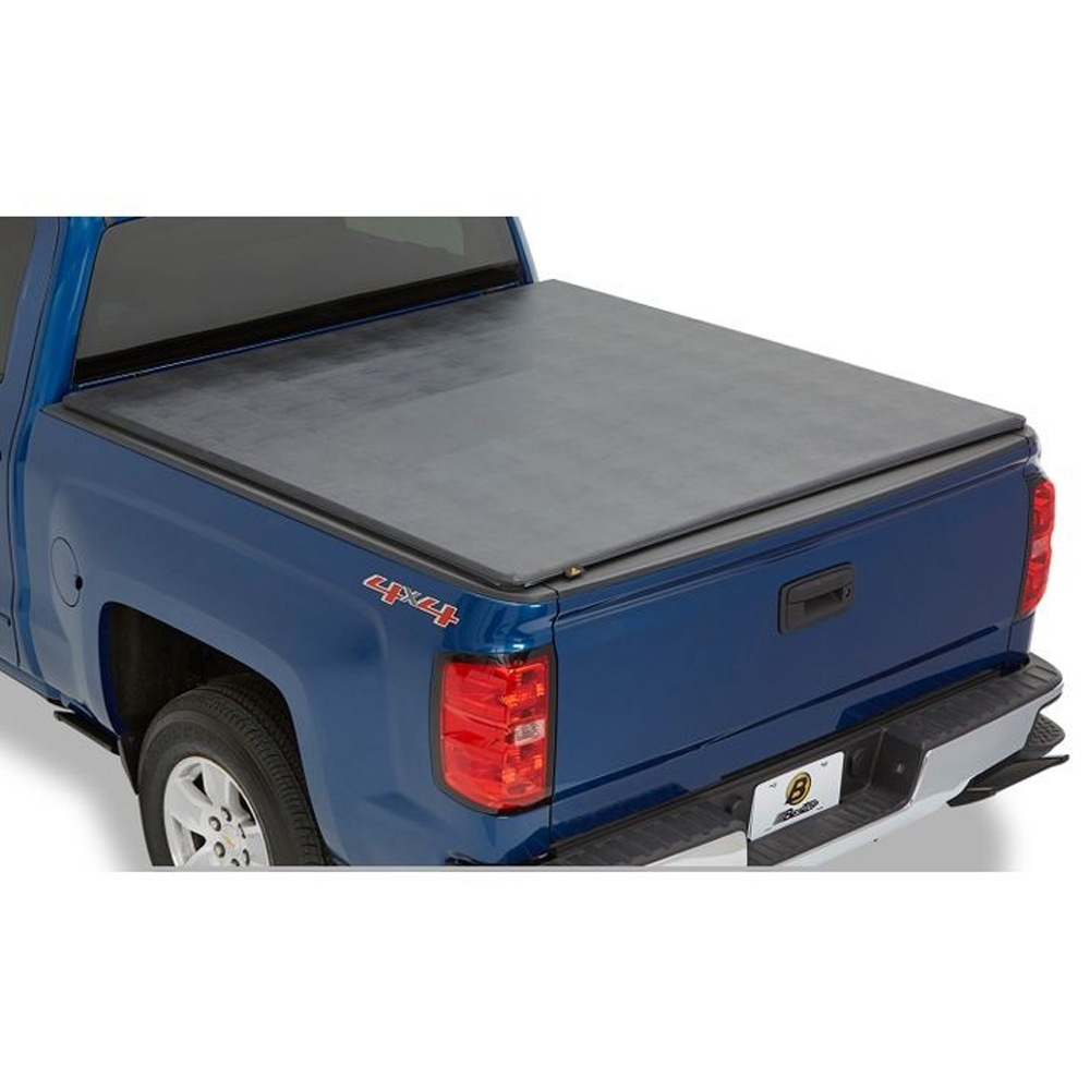 Bestop Ez-Fold Soft Tri-Fold Tonneau Cover, 8', Black, Exterior Car Parts | 2019-2020 Chevy/GMC