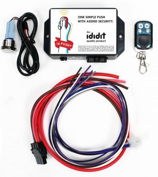 Image of Ididit Id.push+ Push Button Ignition System