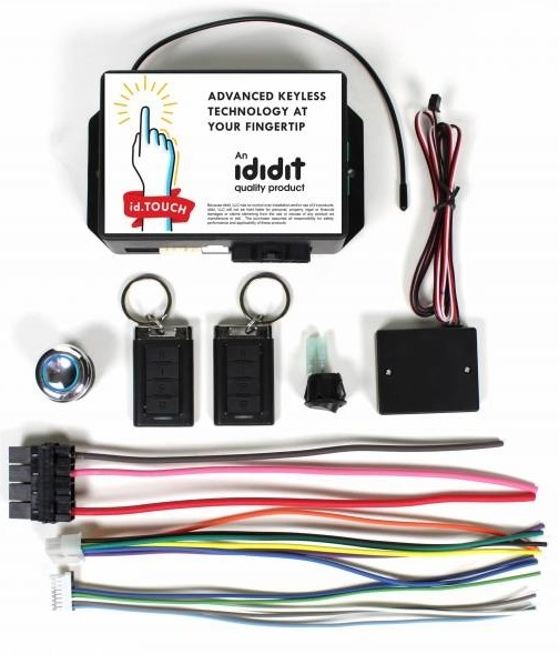 Image of Ididit Id.touch Keyless Start Ignition System