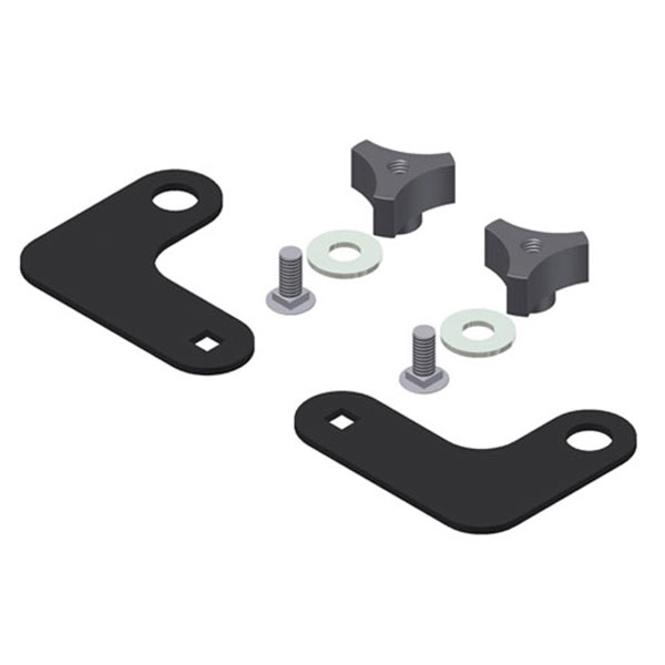 Image of Tuffy Alternate Mounting Kit For Security Tailgate Enclosure Without Cargo Loops