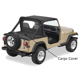 Image of Cargo Cover, Black Denim Pavement Ends