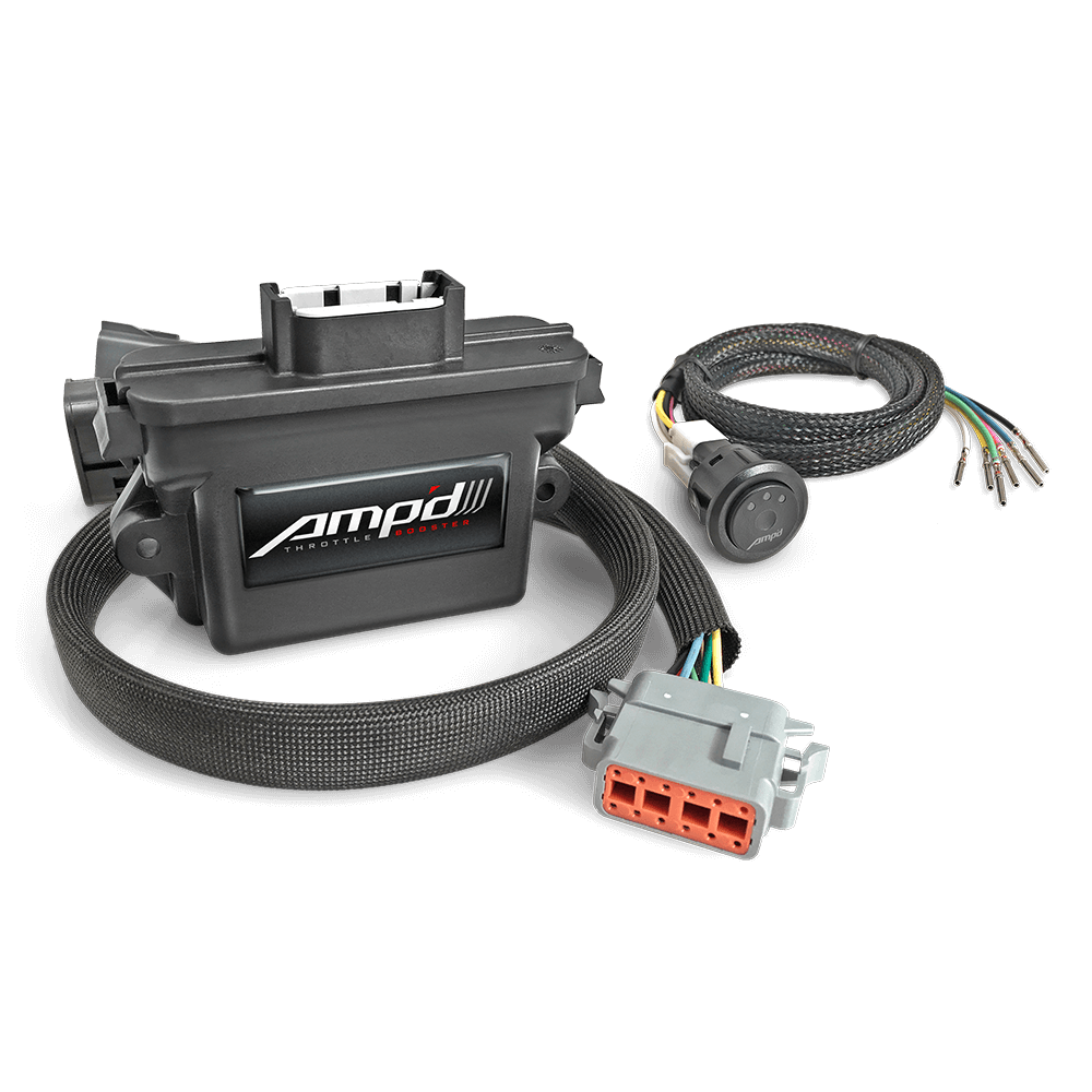 Image of Diablosport Amp'd Throttle Booster With Power Switch - Gas Engines