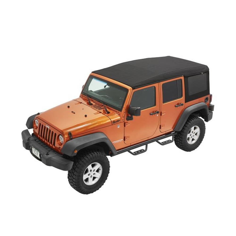 Jeep Bestop Supertop Ultra Soft Top, Black Twill, Exterior Car Parts | 2007-2018 Wrangler JK