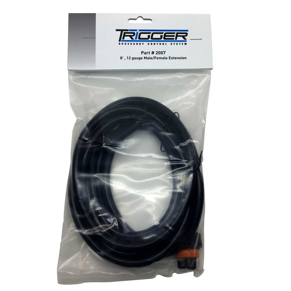 Image of Trigger 8' Male/female Extension Harness 12 Gauge