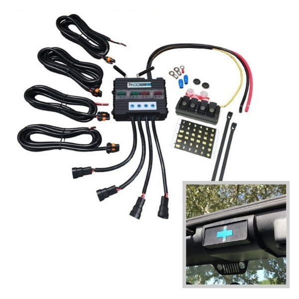 Image of Trigger 4 Plus Solid State Bluetooth Relay Switching System