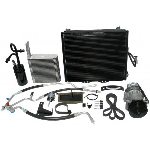 Image of Jeep Air Parts, Ac Kit 2.5 Liter Engine With Slide Controls