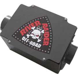 Image of River Raider Air Box Without Filter - Bare Steel
