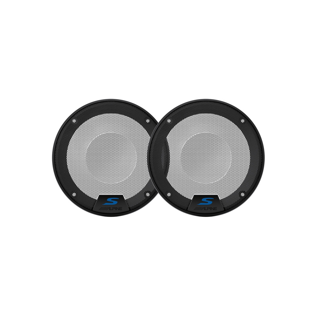 "Image of Alpine 5.25"" S-Series Speaker Grille - Pair"