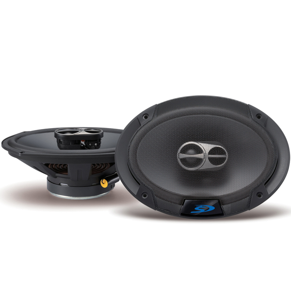 "Image of 50% Off - Alpine Sps-619 6X9"" Coaxial Three-Way Speaker Set, 85W"