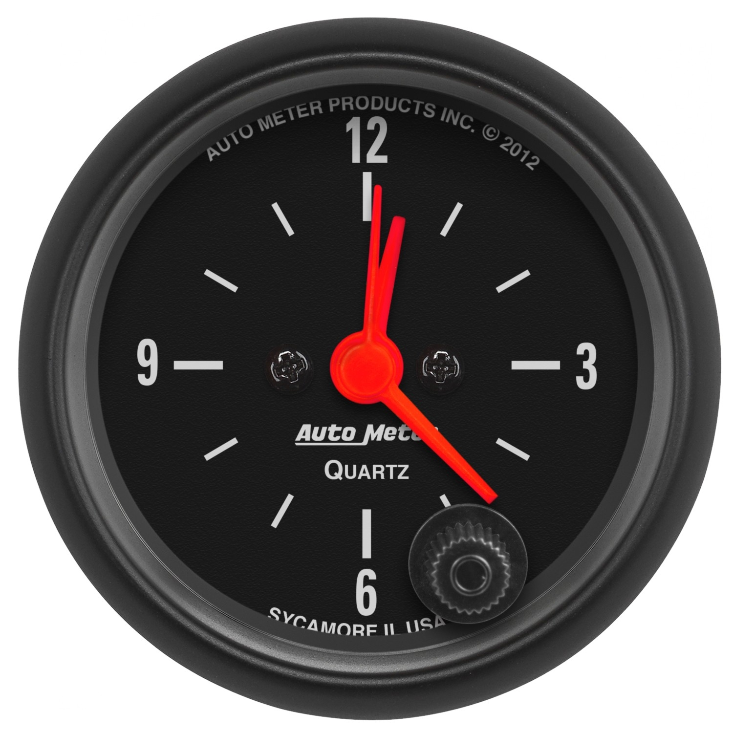 "Image of Auto Meter 2 1/16"" Clock, Z-Series Gauge"