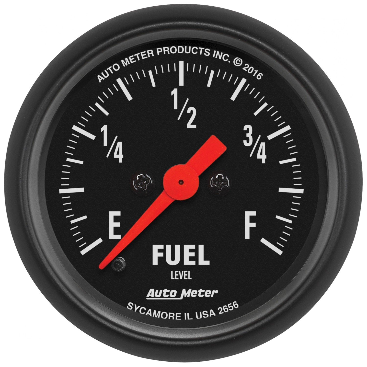"Image of Auto Meter 2 1/16"" Fuel Level 280 Ohms Programmable Z-Series Gauge"