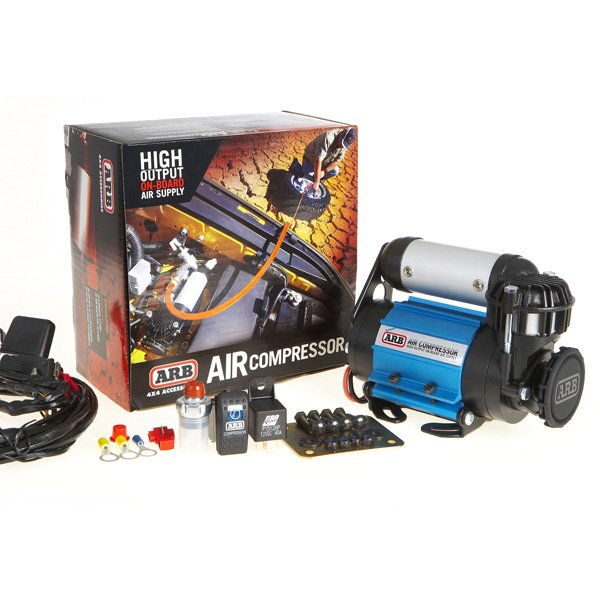 Jeep Arb On-Board High Performance Air Compressor Kit, High Volume, 24 Volt, Exterior Car Parts,