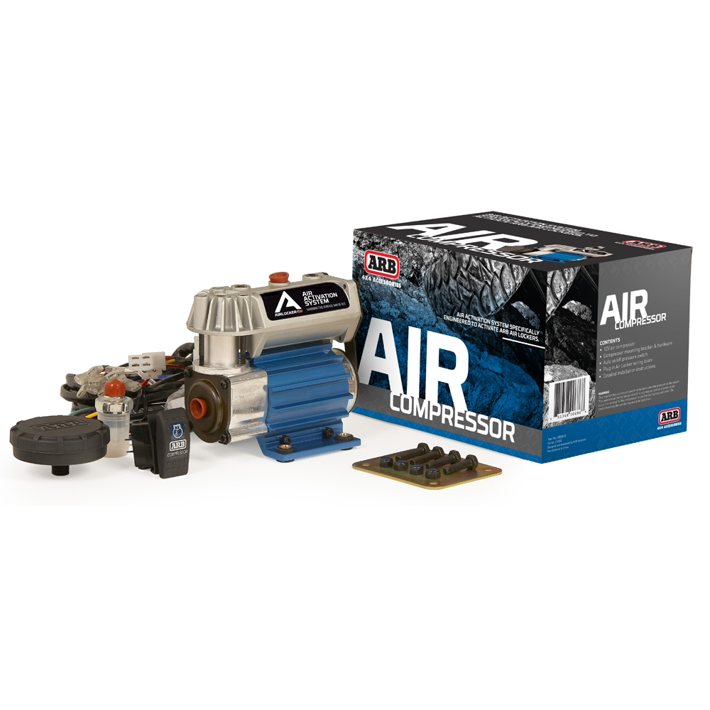 Arb On-Board High Performance Air Compressor Kit, Compact Size - 12 Volt