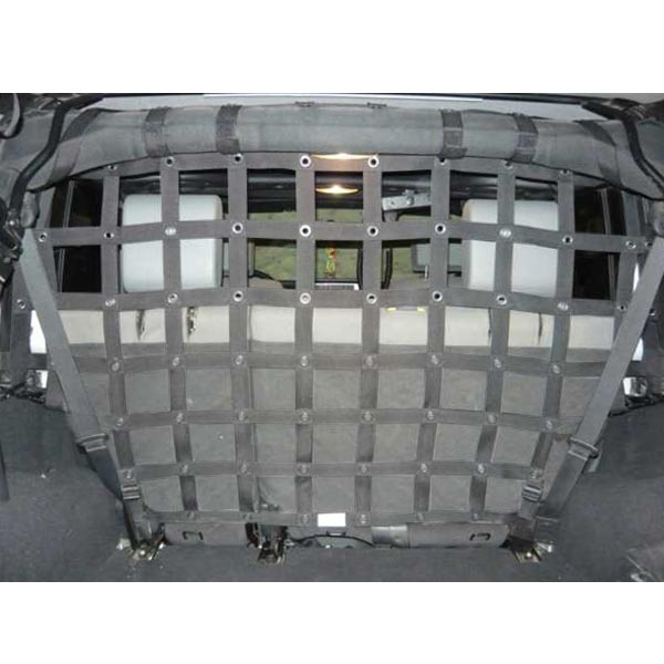Dirtydog 4X4 Cargo Area Pet Divider - Gray