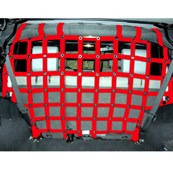 Image of Dirtydog 4X4 Cargo Area Pet Divider - Red