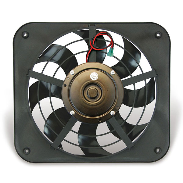 "Image of ""Flex-A-Lite 12"""" Lo-Profile S-Blade Pusher Electric Fan"""