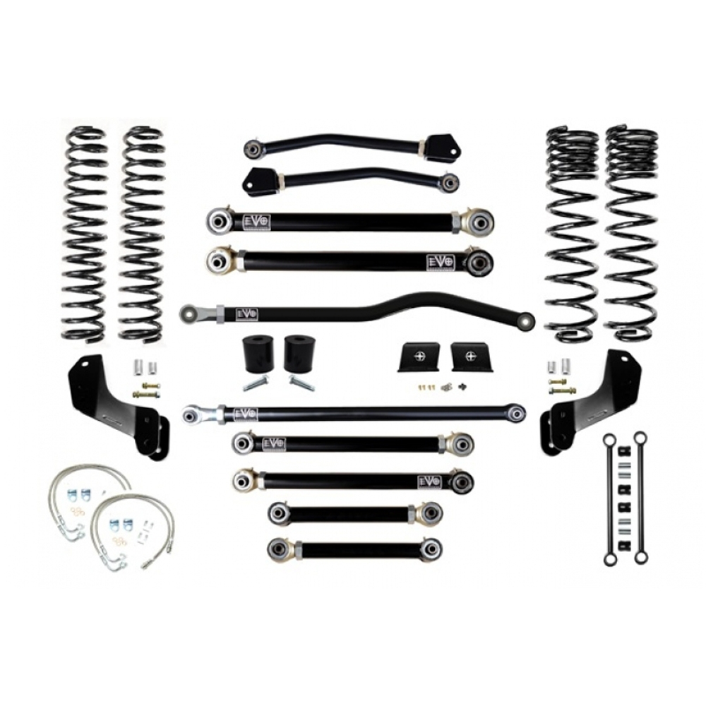 Jeep Evo Mfg Jt 4.5 Enforcer Overland Stage 4 Plus Suspension Lift Kit, Suspension Parts | 2020