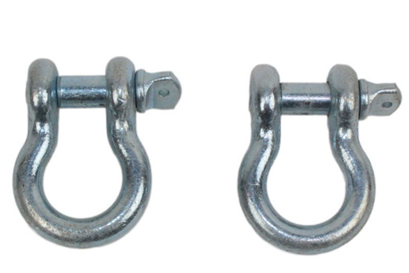 "Image of Fishbone 3/4"" D-Rings, 4.75 Ton Work Load Limit, Zinc Coated - Pair"