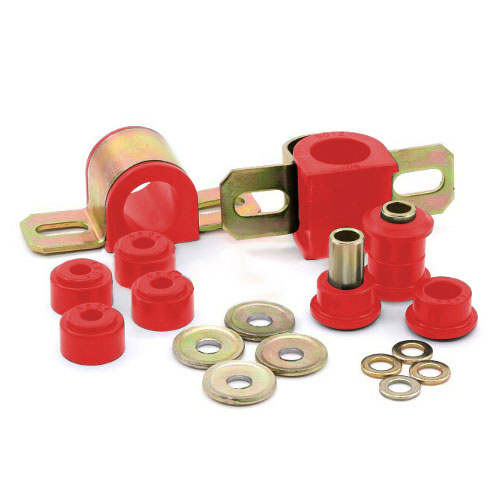 Image of Complete Front Sway Bar Bushing Set 28Mm Red