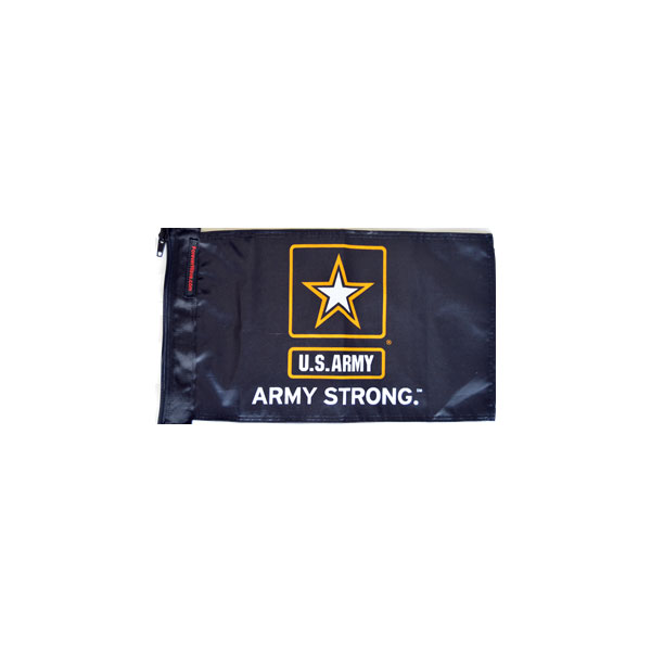 """Image of Forever Wave Army Strong Flag, 12"""" X 18"""""""