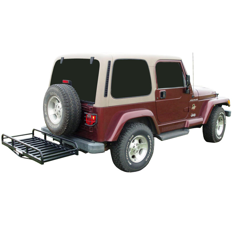 """Image of Great Day Inc. Hitch-N-Ride Hitch Hauler With 33"""" Bar For No Tire Carrier Vehicles"""