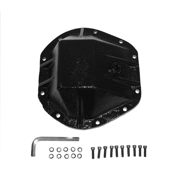 """Image of Alloy, Heavy Duty Differential Cover (3/8"""" Cast Steel)"""