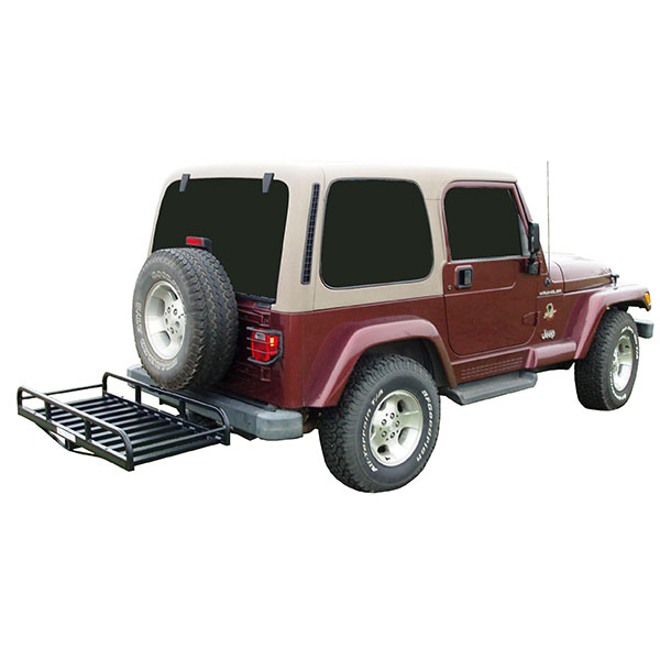"""Image of Great Day Inc Hitch-N-Ride Xl, Hitch Hauler With 41"""" Bar For Vehicles With Tire Carrier"""