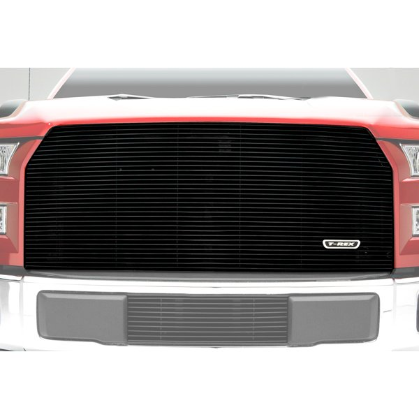 Image of T-Rex Billet Series Bumper Grille Insert - Black Polished Aluminum