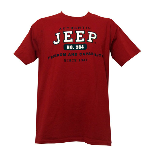Image of Jeep Authentic Tee, Large