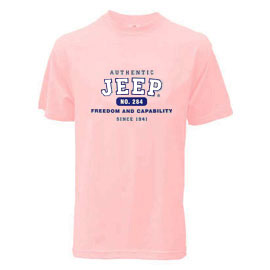 Image of Jeep Authentic Tee - Pink