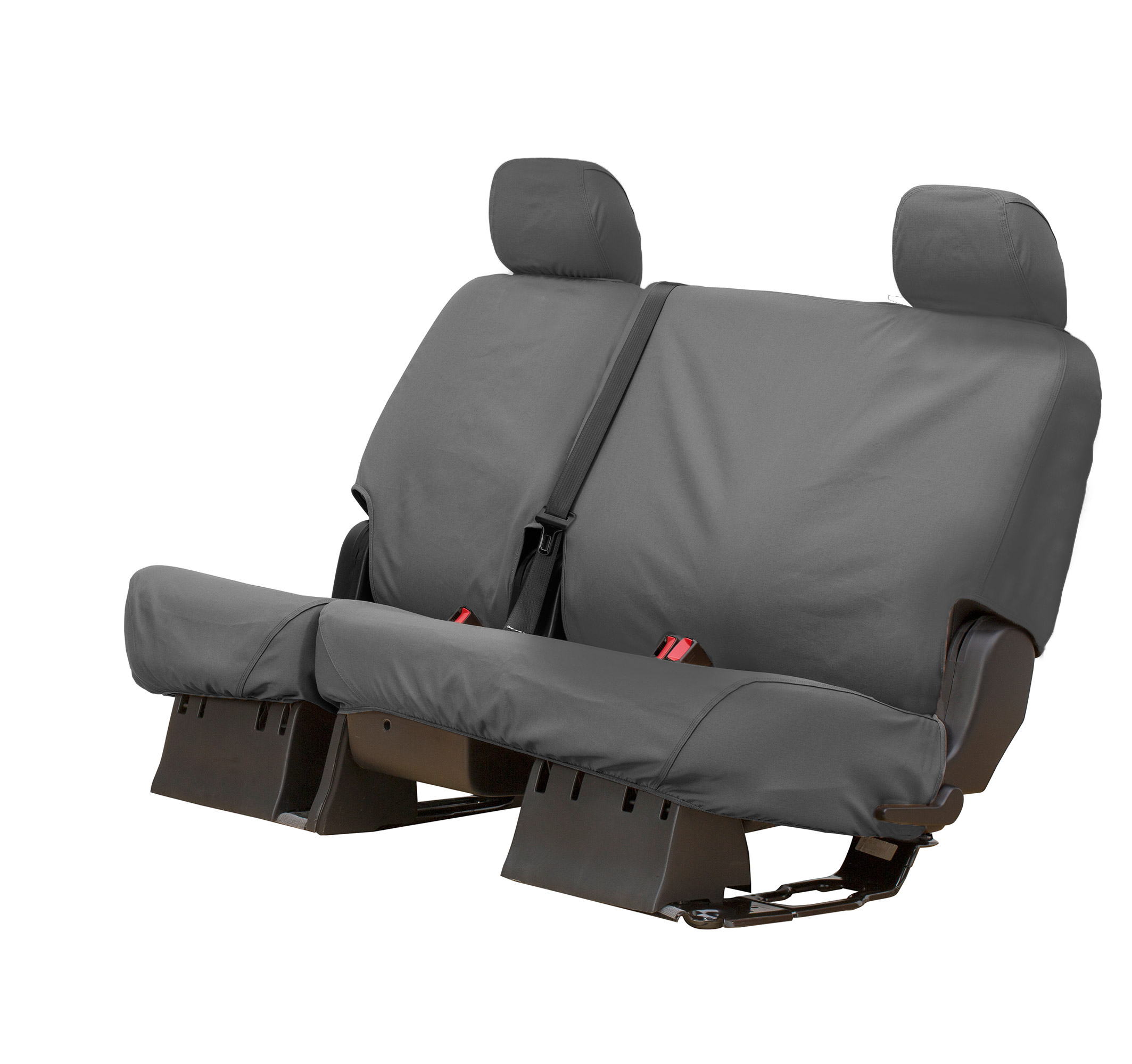 Covercraft Seatsaver Polycotton Rear Seat Cover - Gray