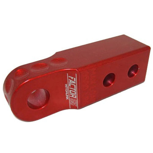 Image of Factor 55 Aluminum Hitchlink - Red
