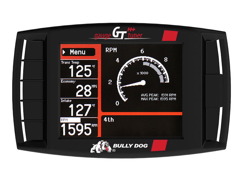 Image of Bully Dog Gauge Tuner For Hemi Plus, Black - Sold Individually