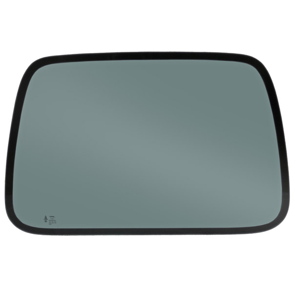 Image of Hardtop Side Glass, Right Side (50% Grey Tint)