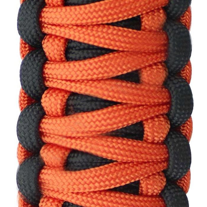 Image of Surprise Straps Center Sound Bar Strap - Crush Paracord And Solid Black Paracord