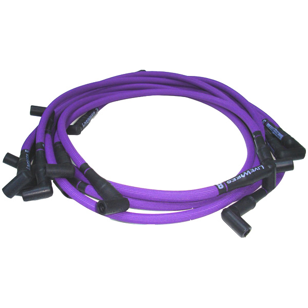 Image of D.u.i. Livewires Performance, Spark Plug Wires, Purple F And F2 6 Cylinder