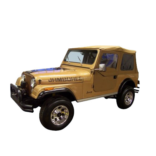 Image of Phoenix Graphix Decal 1982 Jeep Jamboree - Black