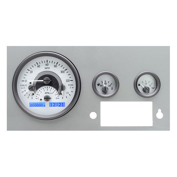 Jeep Dakota Digital Vhx Speedometer Kit, Silver Face With Red Led's, Interior Car Parts | 1955-1986
