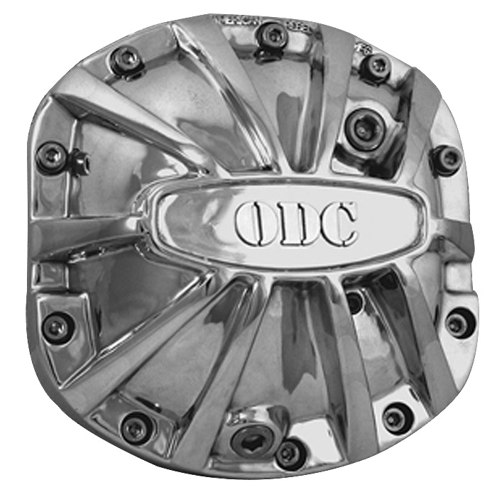 Image of American Rebel Outlaw Differential Cover With Jeep Logo - Polished