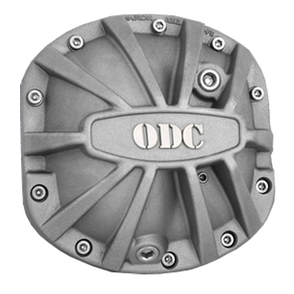 Image of American Rebel Outlaw Differential Cover For Front Dana 30 With Odc Logo - Sandblasted
