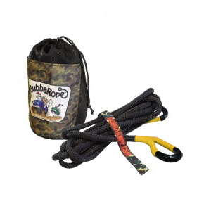 """Image of Bubba Rope 20' X 1/2"""" Lil' Bubba Atv Recovery Rope With Yellow Eyes"""