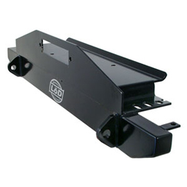 """Image of Lod 44"""" Front Winch Bumper - Black Texture"""