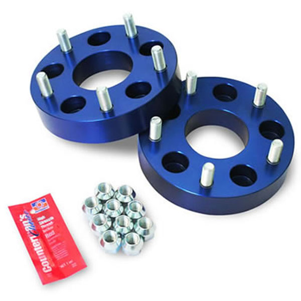 """Image of Spidertrax 1.38"""" Wheel Adapters, 5X5"""" To 5X5.5"""" Bolt Pattern, Aluminum - Pair"""
