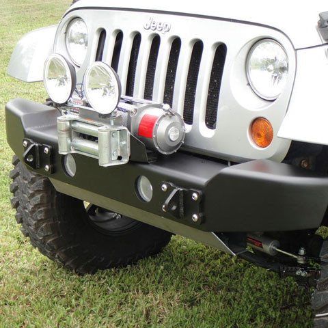 Image of Lod Armor Lite Bolt-On Auxiliary Light Mount - Bare Steel