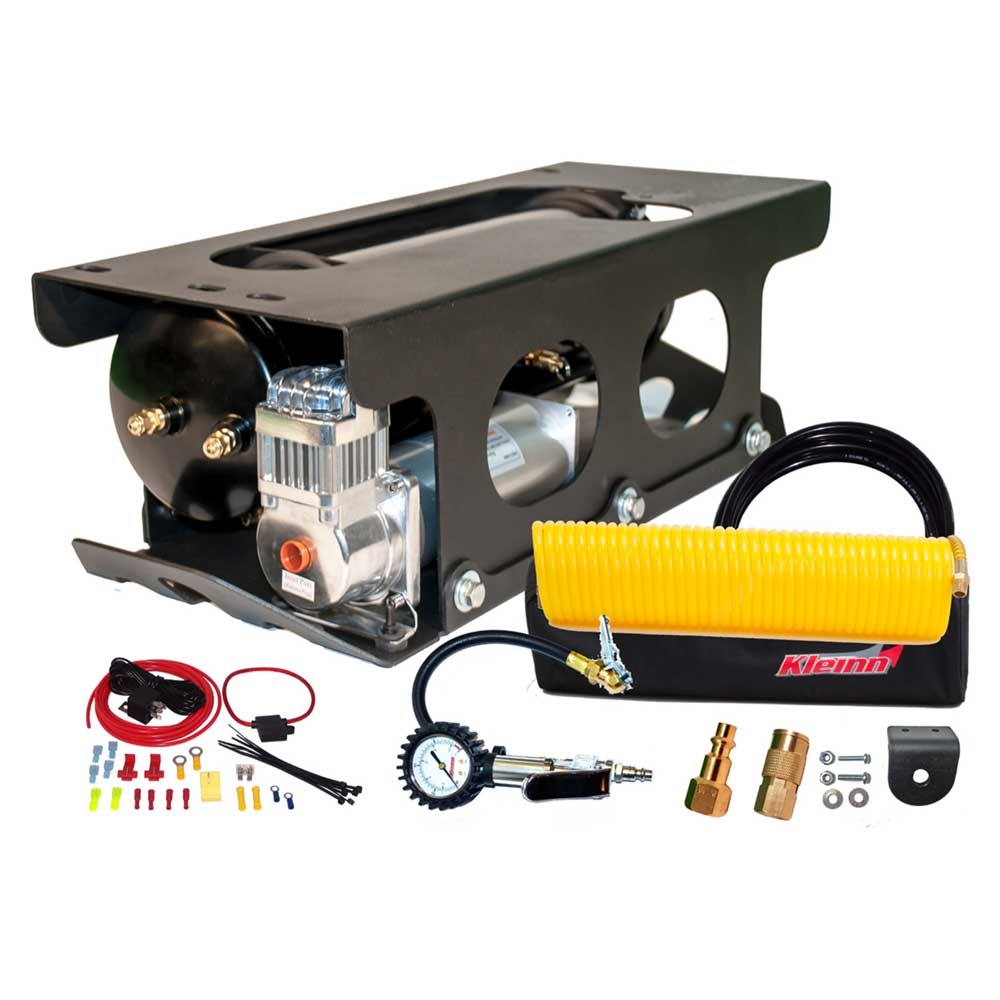 Kleinn Air Horns Complete Onboard Air System With Air Compressor And Tire Inflation Kit