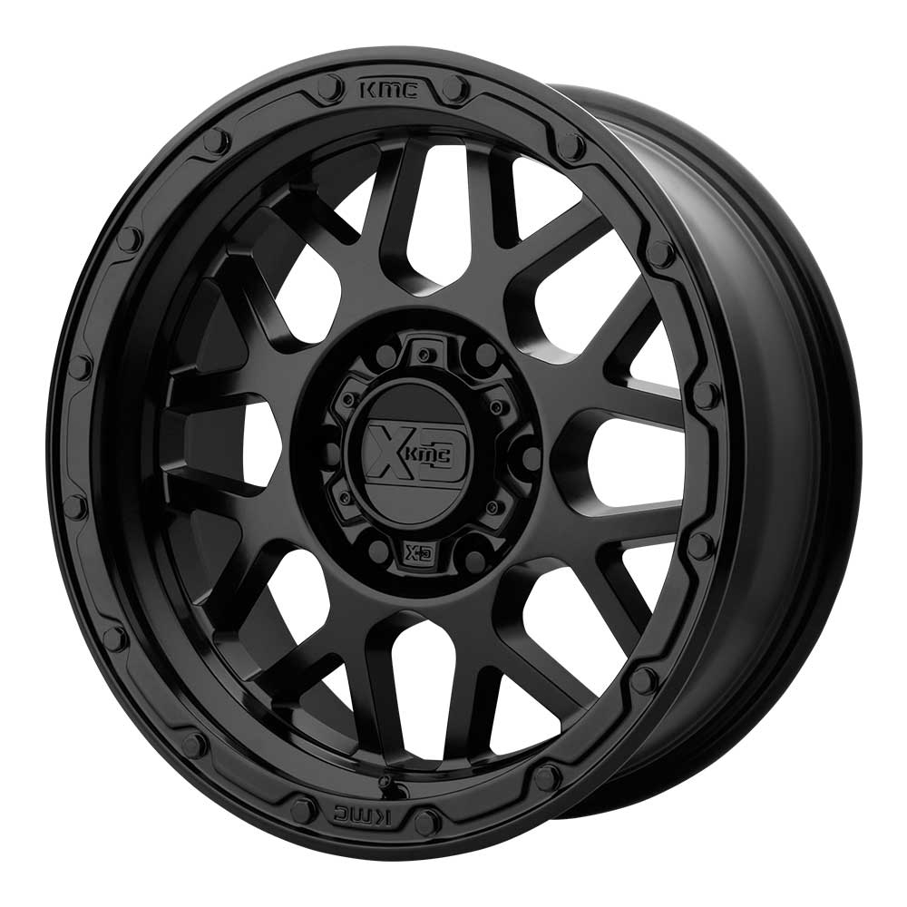 "Image of Kmc Xd135 Grenade Or Series Wheel 18X8.5"" - 5X5"" Bolt Pattern, 4.75 Backspacing - Matte Black"