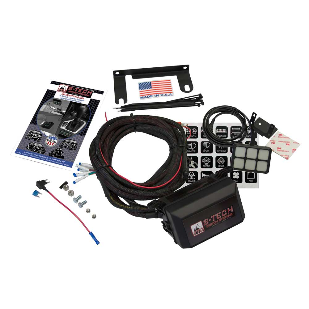 Image of S-Tech Switch Systems Universal 6 Switch System Plug/play Wire Harness
